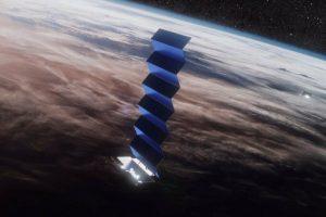 Mô phỏng vệ tinh phát sóng Internet của SpaceX trên quỹ đạo LEO