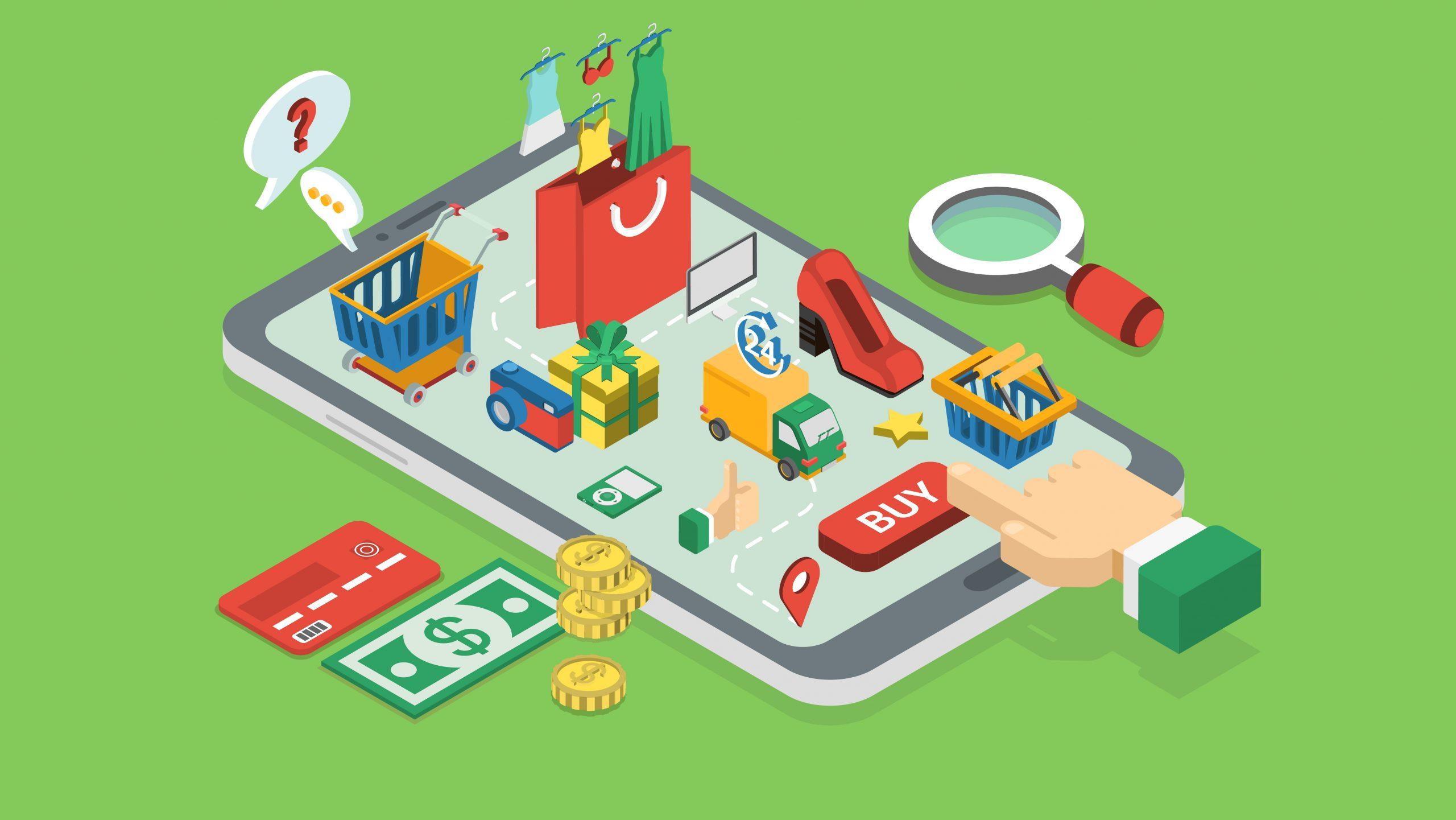 Người tiêu dùng chuộng mua sắm online sau Covid-19.