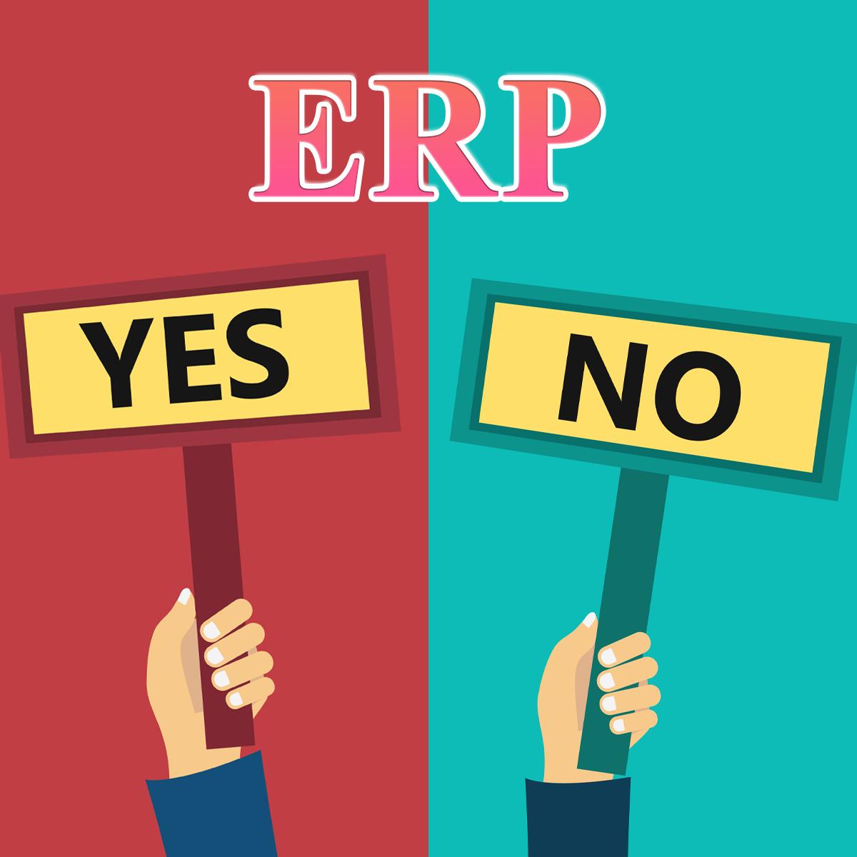 Mặc dù ERP mang đến nhiều lợi ích nhưng nhiều doanh nghiệp vẫn còn phân vân trong lựa chọn