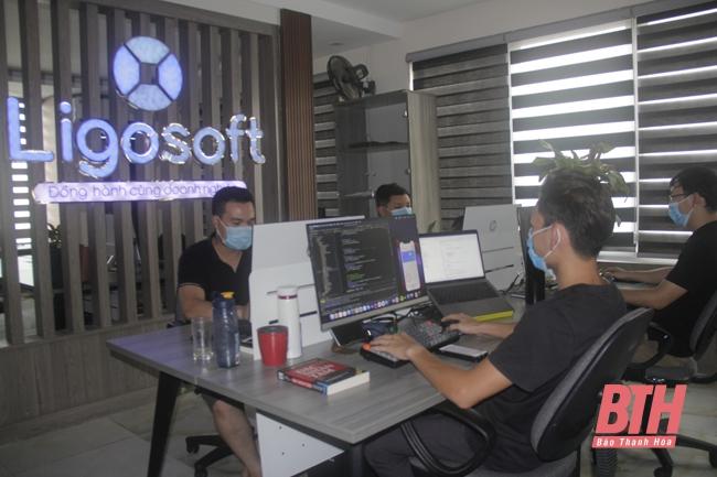 [Báo Thanh hóa] Ligosoft khởi nghiệp sáng tạo thời chuyển đổi số